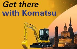 Get There With Komatsu